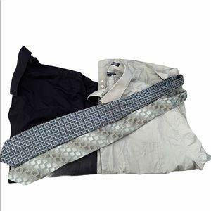 Shirts and ties bundle